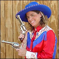 Pistol Packin' Paula